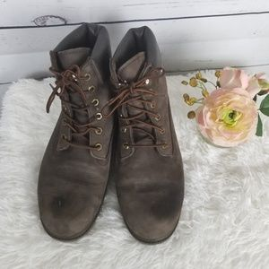 Mens Timberland Work Boots Size 9.5M Waterproof